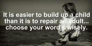 choose your words word's wisely ........