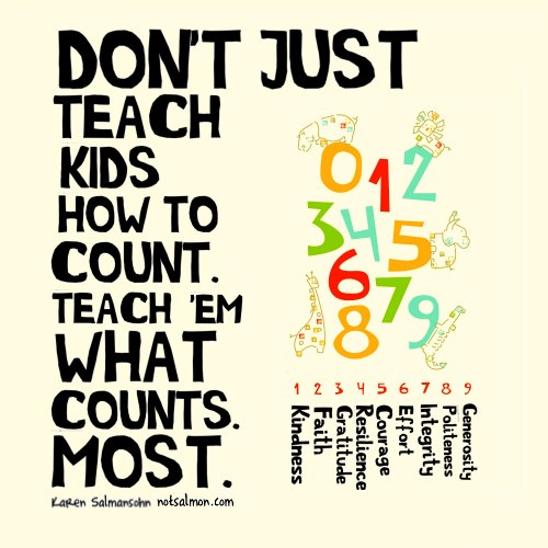 TEACH KIDS WHAT COUNTS MOST ......