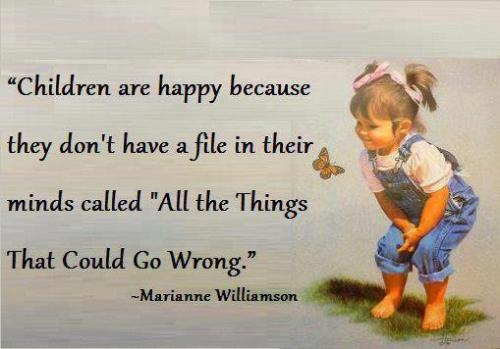 Children are happy because ..... #quote